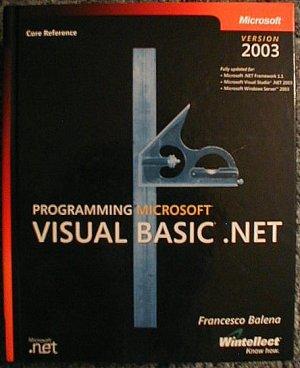 Programming Microsoft Visual Basic .NET Version 2003 (Book & CD-ROM) (Hardcover)