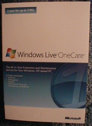 Windows Live One Care