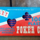Vintage Box of Ardsley Self Locking Red and Blue Poker Chips - 1970's