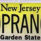 SOPRANOS New Jersey Replica License Plate