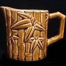 Vintage Ceramic Hawaiian Polynesian Tiki Creamer, Syrup, Small Pitcher