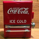 Coca Cola Toothpick Dispenser, Bright Red, Excellent Condition - 1995