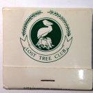 Vintage Lost Tree Club of North Palm Beach, FL FrontstrikeMatchbook Unstruck