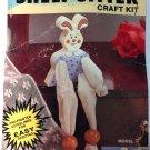 BNIP Vintage Wang's International, Inc Wooden Shelf Sitter Craft Kit -  Bunny ..