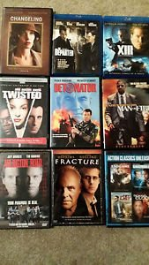 DVD MOVIE ACTION ADVENTURE MYSTERY AND THRILLER MOVIE LOT