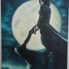 ORIGINAL AIRBRUSH PAINTING OF UNDERWORLD DEATH DEALER ON CANVAS