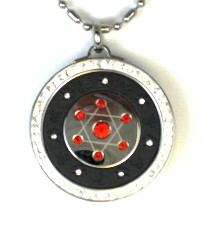 QP12R Quantum Pendant Scalar Energy Limited Edition Red 2500 Neg Ions
