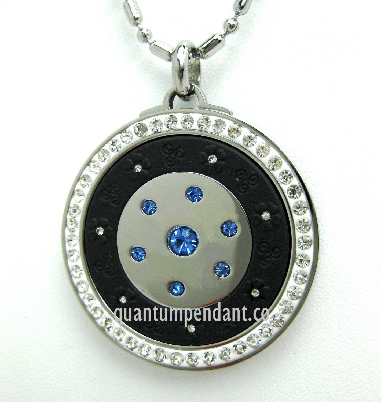 QP12B Quantum Pendant Scalar Energy Limited Edition Blue 2500 Neg Ions
