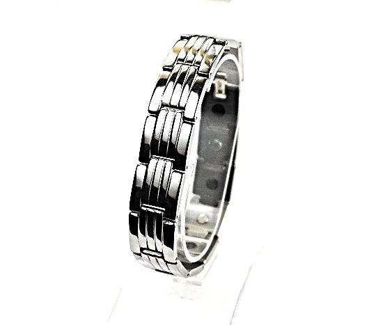 QB52 Dalimara Quantum Energy Bracelet Stainless Steel Magnetic