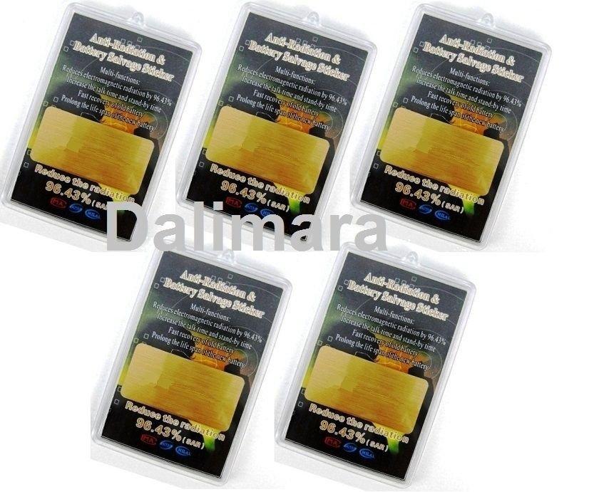 Wholesale 5/Lot Quantum EMF Shield Cellphone Anti-radiation - New