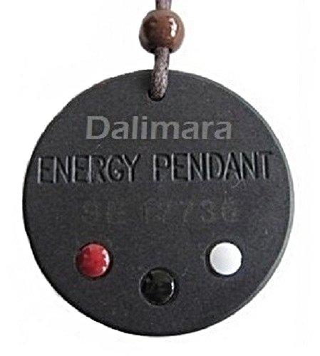 QP1 Dalimara Quantum Pendant 6K Neg Ion Volcanic Rock from Iceland Scalar Energy