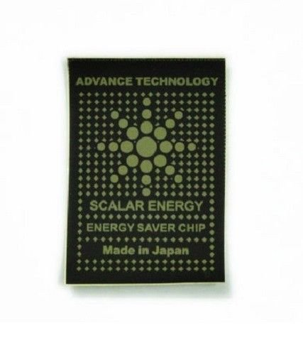 New Cellular Phone Patch Shield Anti-radiation Shield EMF Black