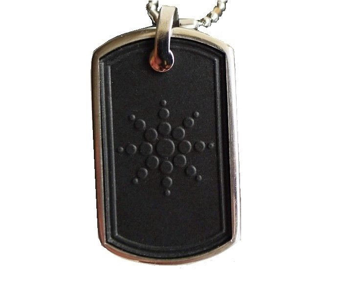 QP8 Dalimara Quantum Pendant Military DogTag 4000 Scalar Energy & Germanium