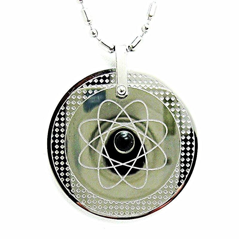 QP-14 Quantum Pendant Round Negative ion, Tourmaline, Far Infrared & Germanium
