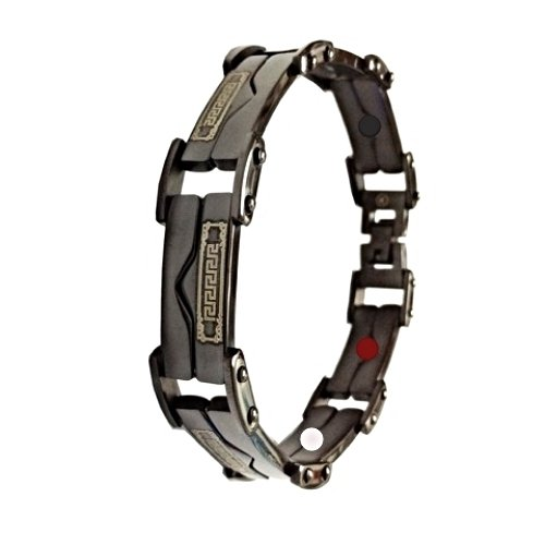 QB31 Dalimara Quantum Energy Power Bracelet with 4 Energies Black