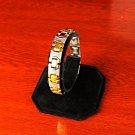 QB66 Kanzaki Quantum Energy 2-Tone Stainless Steel Bracelet