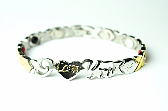 WB11 I Love You Quantum Energy Power Bracelet with 4 Energies