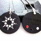 QP7 Quantum Pendant 5000 Negative Ion Swarovski Crystal + Four Energy