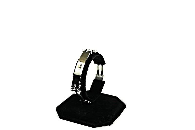 QB40 Dalimara Quantum Energy Power Bracelet with 4 Energies Medusa Head