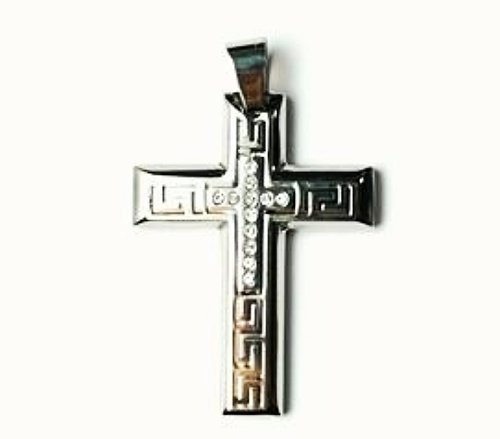 QC30 Dalimara Energized Cross Magnetic Pendant with Energy chips
