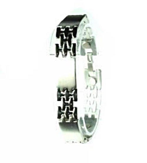 QB25 Dalimara Magnetic Stainless Steel Men's Power Bracelet