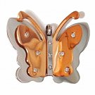 QP60 Cho Butterfly Quantum Energy Necklace 2-Tone