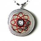 QP18 Dalimara Quantum Pendant Red w/ Swarovski Crystal