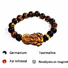 QB65 Strength and Protection Tiger's Eye Quantum Bracelet