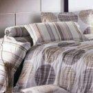 4-pc Gorgeous Gray Floral Cotton Bedroom Duvet Cover