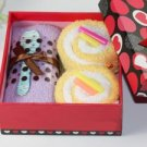 Lucky Leaf Cotton Towel Gift Box