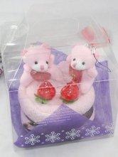 Bear Cake Cotton Quality Towel Gift Box