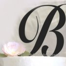 Monogram Cake Topper Letters A-Z