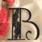 The Original Damask Monogram Cake Topper Letters A-Z