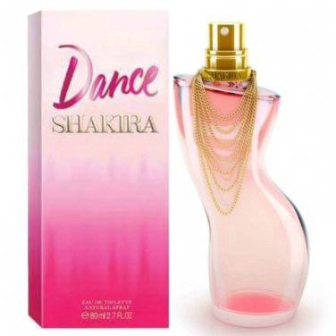 NEW SEPTEMBER  2016 RELEASE Dance by Shakira E.D.T 80 ml EXCLUSIVE SALE