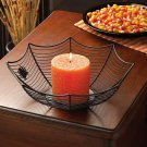 *(FREE SHIPPING)* SPIDER WEB CANDLEHOLDER