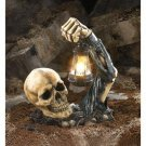 *(FREE SHIPPING)* SINISTER SKULL WITH LANTERN