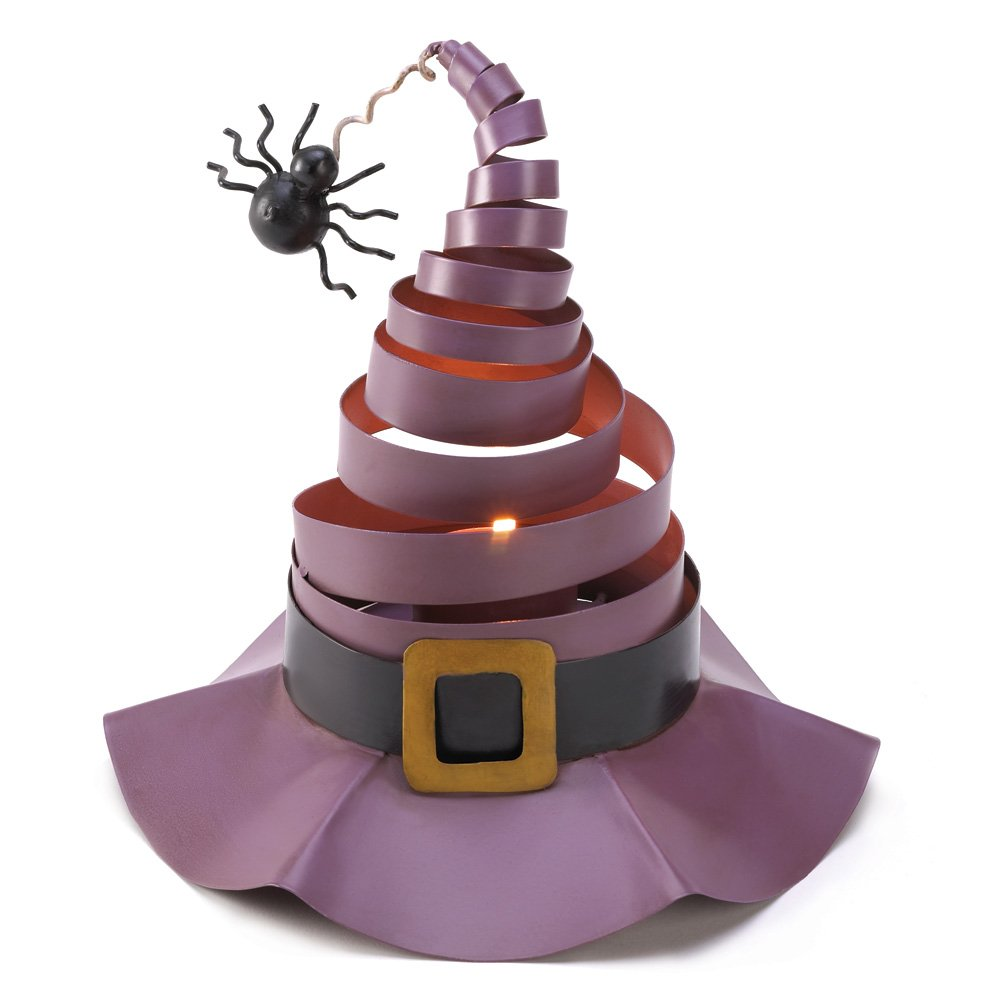 ~FREE SHIPPING~WACKY WITCH HAT CANDLE DECOR