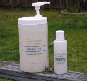 Herbal Ice 32 oz Pump Dispenser