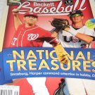Beckett BASEBALL OCTOBER 2010 magazine strasburg harper