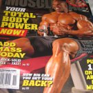 musclemag International magazine Total body power add MASS HI Quad GROWTH