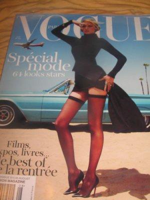 Paris VOGUE magazine FRENCH special mode films expos, livres 64 looks of STARS