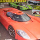 KIT Car BUILDER Magazine Real lost shelby frames Cobra hammer time Racecars