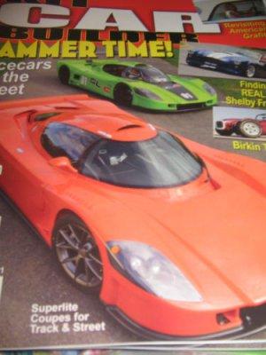KIT Car BUILDER Magazine Real lost shelby frames Cobra hammer time Racecars