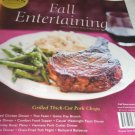 Cook's magazine Fall entertaining Southern fried chicken Thai Feast Game day