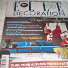 UK Elle decoration magazine HANDMADE Home expert advice new season patterns