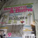 bedrooms & BATHS magazine all budgets STYLES clutter