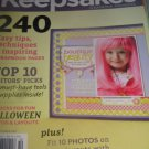 Creating keepsakes scrapbook magazine ANNUAL Top 10 issue 41 HALLOWEEN layouts