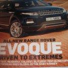 Top GEAR magazine EVOQUE Range rover Porsche 911 Aston Zagato Honda cr-z MUGEN