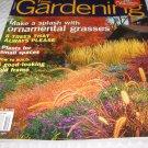 TAUNTON'S Fine GARDENING  ornamental grass design
