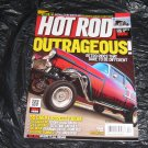 Hot ROD outrageous car magazine 55 Chevy 69 Roadrunner 66 nova retro rides